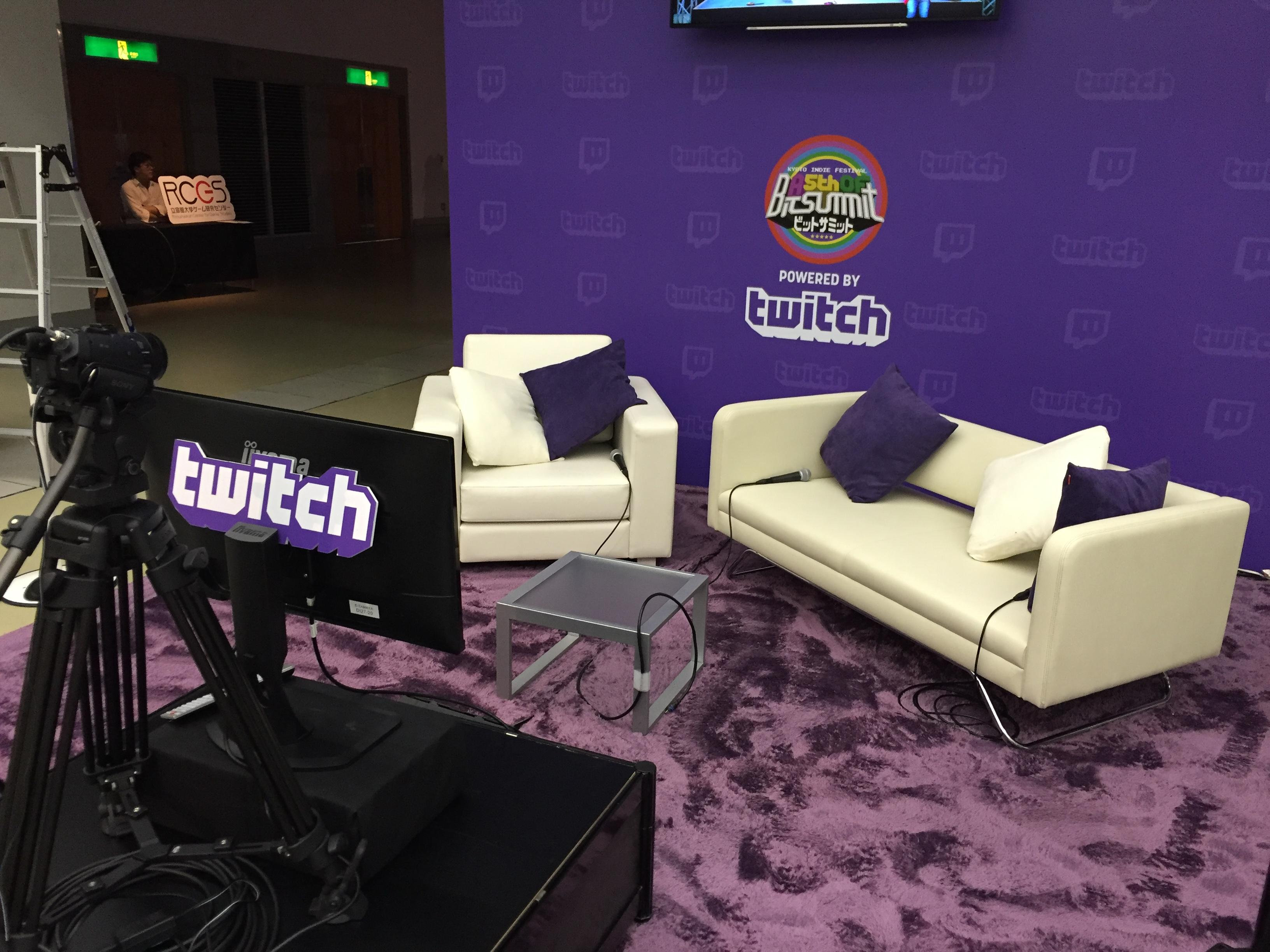 BitSummit 5th Twitch Booth
