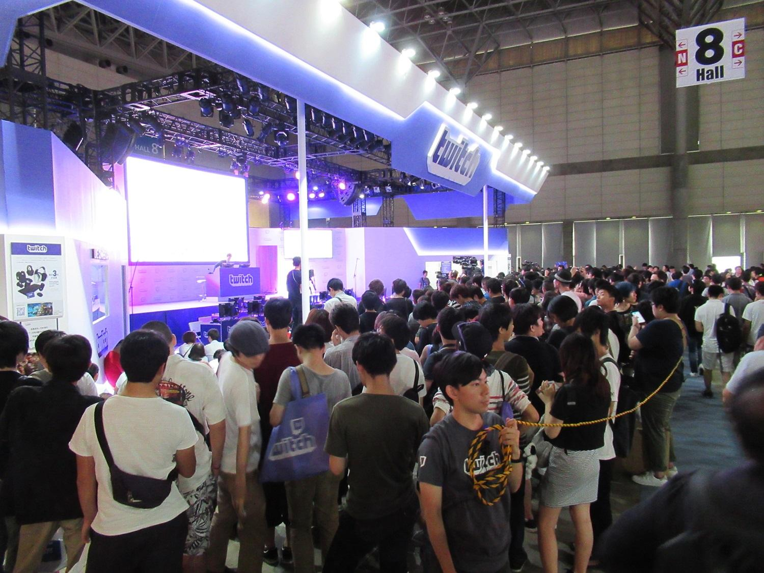 TOKYO GAME SHOW 2016 Twitch Booth