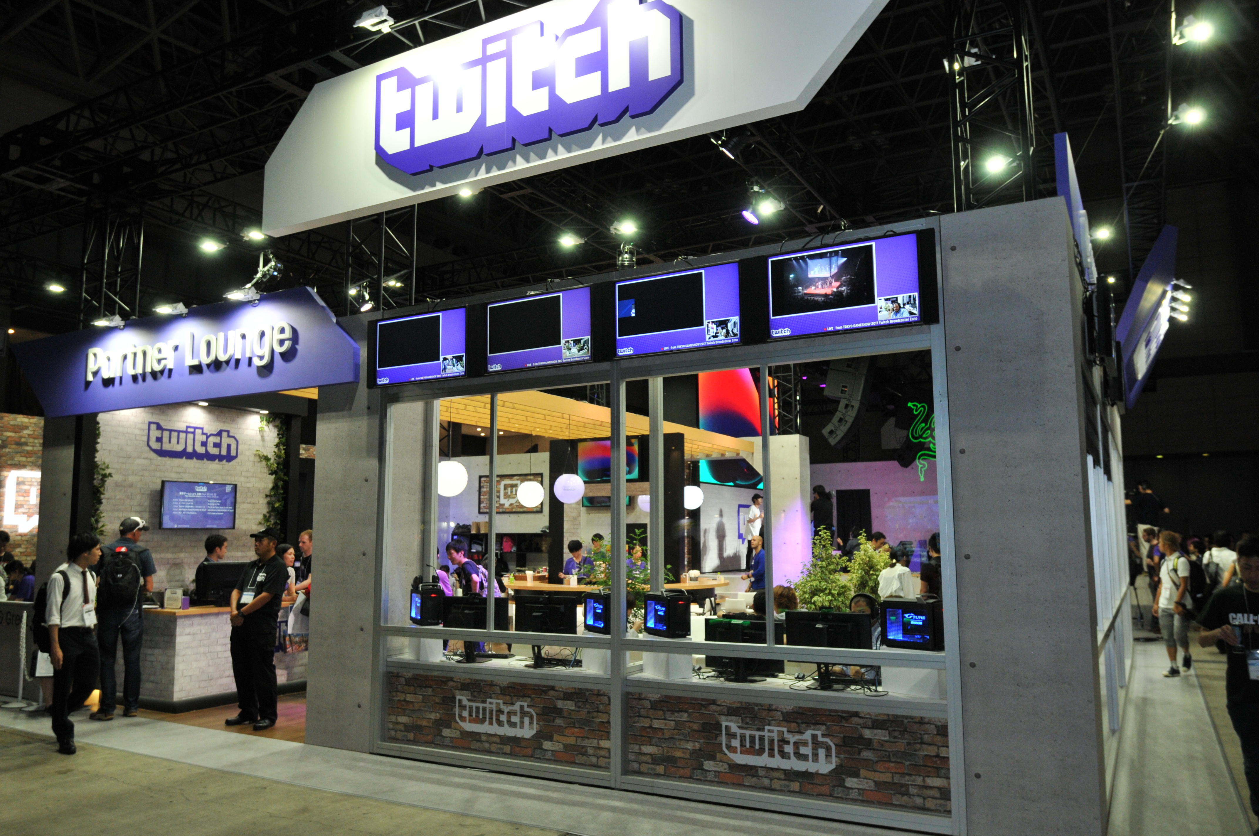 TOKYO GAME SHOW 2017 Twitch Booth