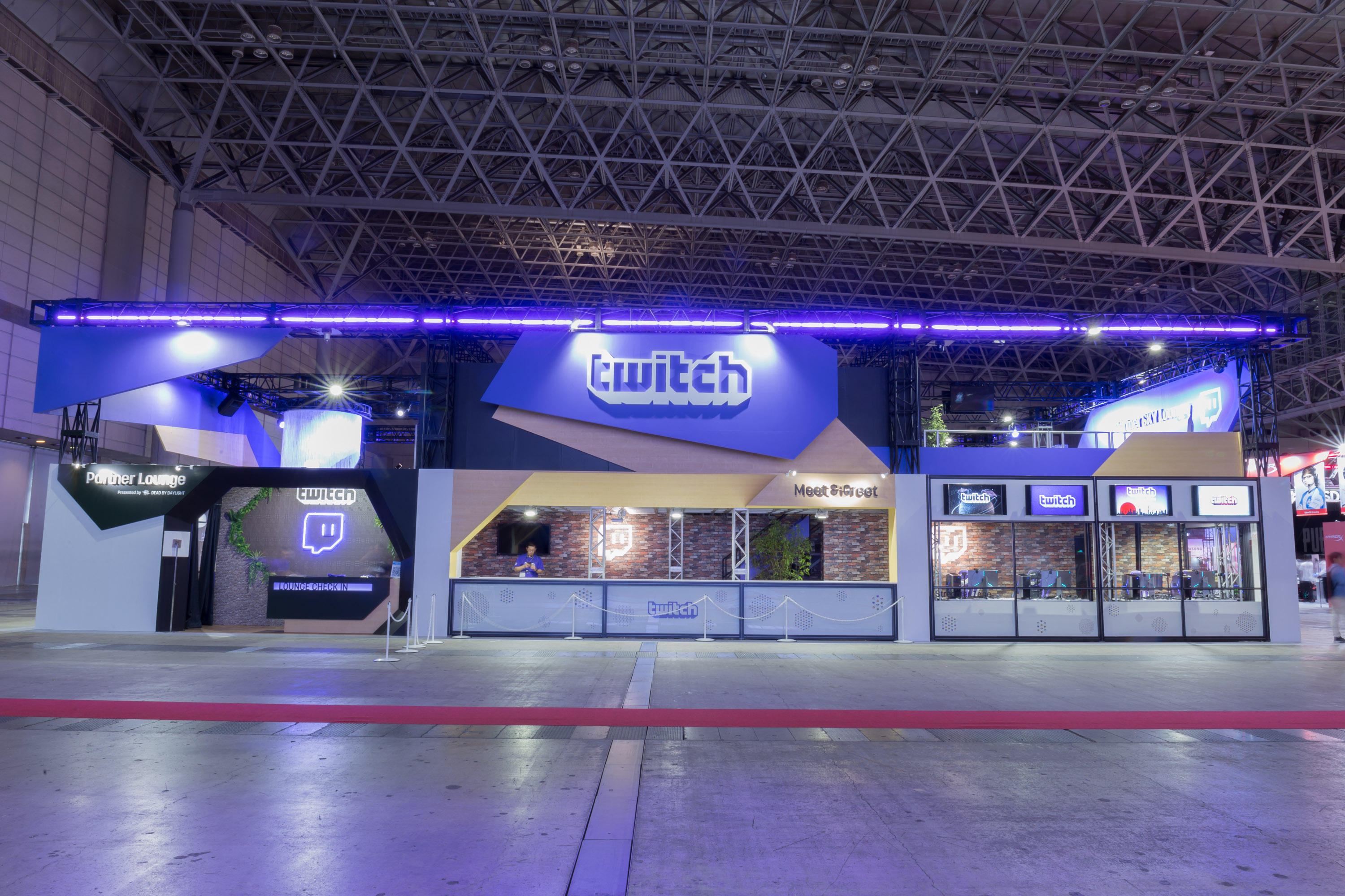 TOKYO GAME SHOW 2018 Twitchブース